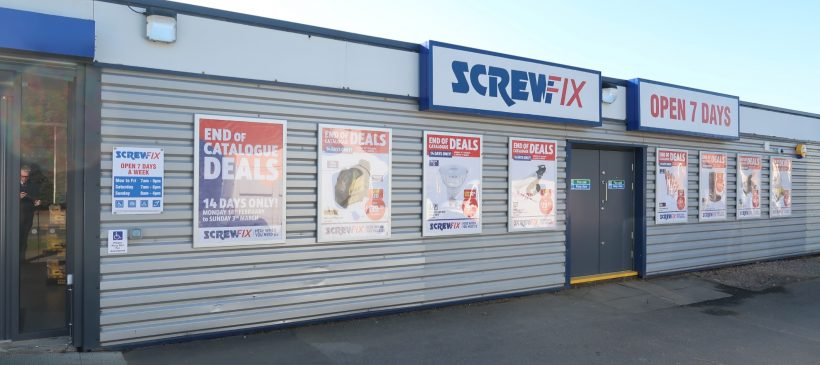 Screwfix Retail Unit Refurbishment